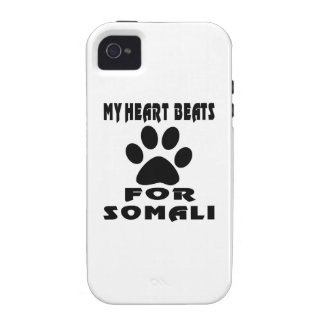 Heart Beat For SOMALI iPhone 4 Covers