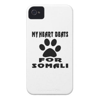 Heart Beat For SOMALI Case-Mate iPhone 4 Cases