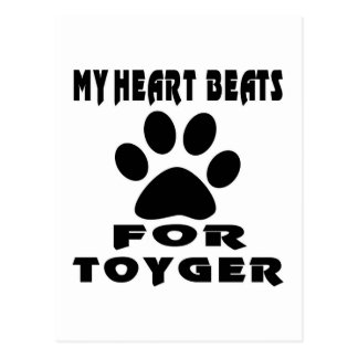 Heart Beat For TOYGER Postcard