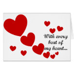 Heart Beat Greeting Card