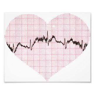 Heart Beat III Photo Print