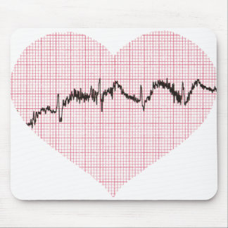 Heart Beat IV Mouse Pad