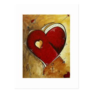 """""""Heart Beat"""" Postcard"""