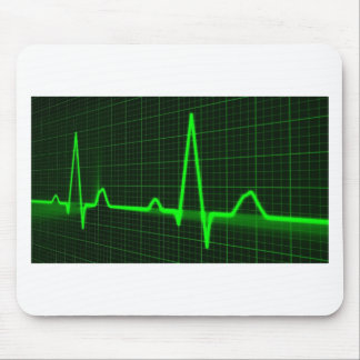 Heart Beat Pulse Trace Mouse Pad