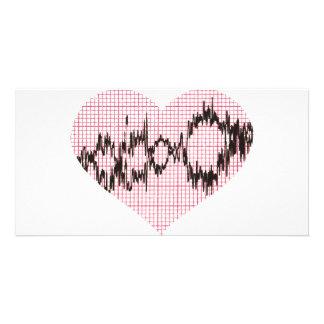 Heart Beat V Card