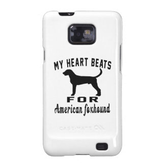 Heart Beats For American foxhound Samsung Galaxy S2 Cover