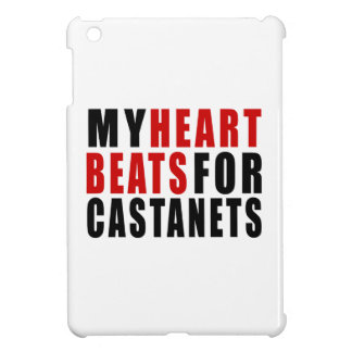 HEART BEATS FOR CASTANETS COVER FOR THE iPad MINI