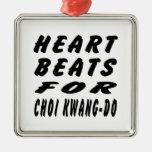 Heart Beats For Choi Kwang-Do Ornaments