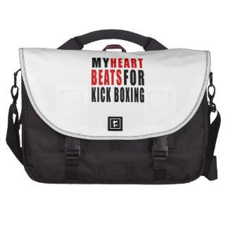 HEART BEATS FOR KICK BOXING. COMPUTER BAG