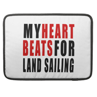 HEART BEATS FOR LAND SAILING SLEEVE FOR MacBooks