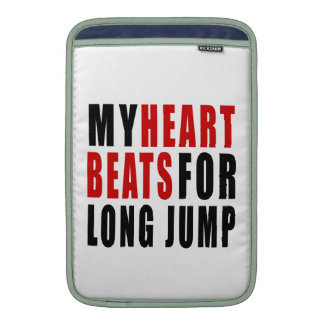 HEART BEATS FOR LONG JUMP. SLEEVES FOR MacBook AIR