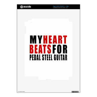 HEART BEATS FOR PEDAL STEEL GUITAR SKINS FOR iPad 2