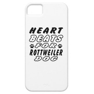 Heart Beats For Rottweiler iPhone 5 Cover