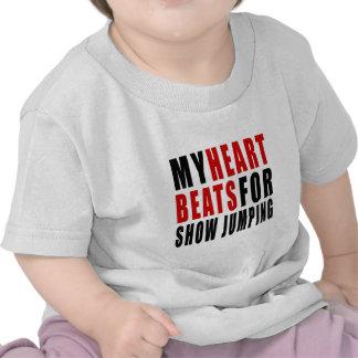 HEART BEATS FOR SHOW JUMPING SHIRT
