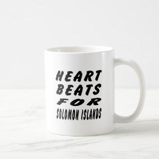Heart Beats For Solomon Islands Coffee Mug