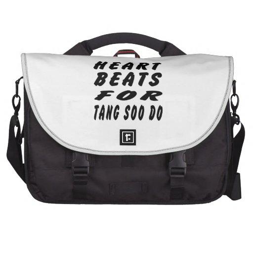 Heart Beats For Tang Soo do Martial Arts Laptop Bag