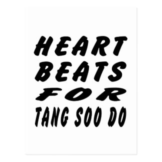 Heart Beats For Tang Soo do Martial Arts Post Card