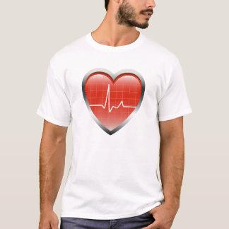 Heart Beats Sign T-Shirt