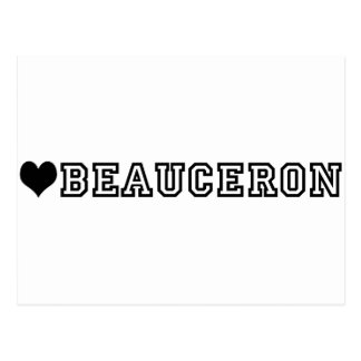 (heart) BEAUCERON Postcard
