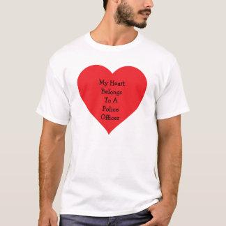 Heart Belongs 2 Cop T-Shirt