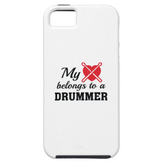Heart Belongs Drummer iPhone SE/5/5s Case