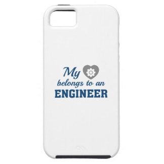 Heart Belongs Engineer iPhone SE/5/5s Case