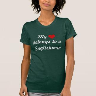 Heart belongs to a Englishman Tshirt