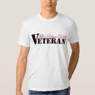 Heart Belongs To A Veteran T-Shirt