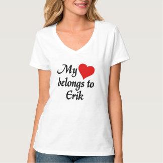 Heart belongs to Erik T-Shirt