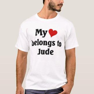 Heart belongs to jude T-Shirt