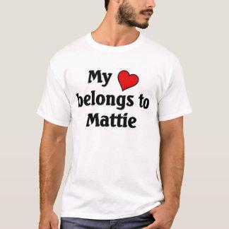 Heart belongs to Mattie T-Shirt