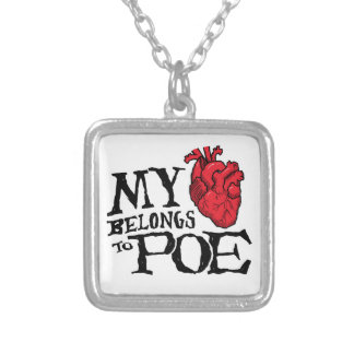 Heart Belongs to Poe Necklace