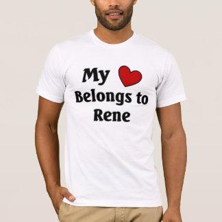 Heart belongs to Rene T-Shirt