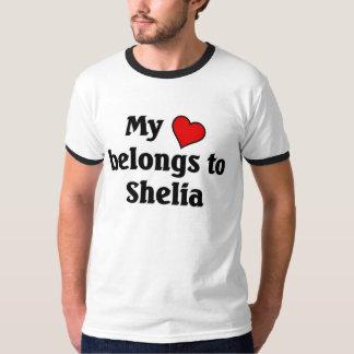 Heart belongs to shelia T-Shirt