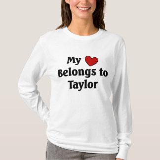 Heart belongs to Taylor T-Shirt