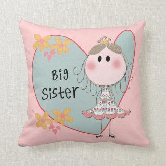 Heart Big Sister Pillow