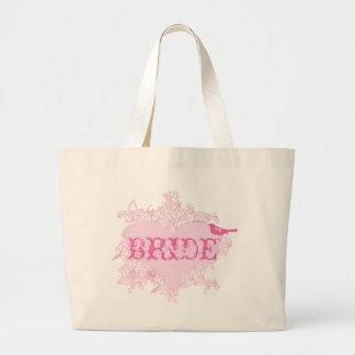 Heart & Bird Bride Bag