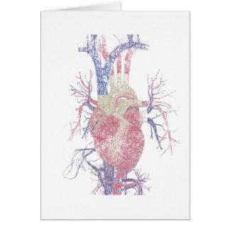 Heart (Biro) Card