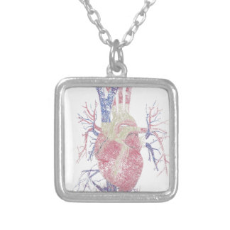 Heart (Biro) Silver Plated Necklace