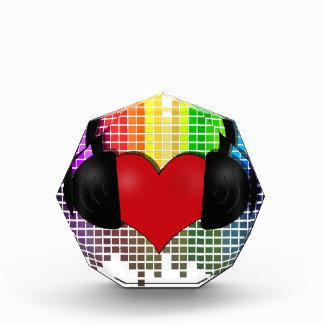 Heart bit - transparent award