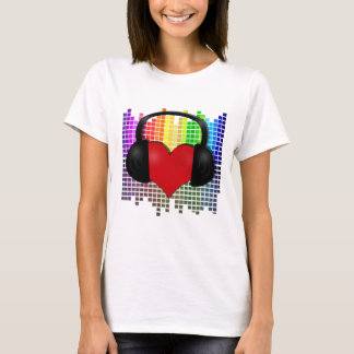 Heart bit - transparent T-Shirt