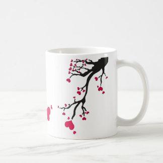 heart blossom w frame coffee mug