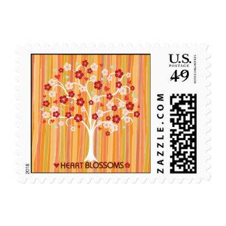 Heart Blossoms Design Stamp