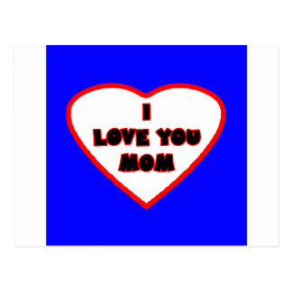 Heart Blue Transp Filled The MUSEUM Zazzle Gifts Postcard