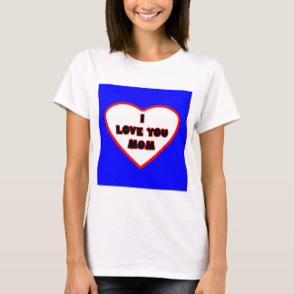 Heart Blue Transp Filled The MUSEUM Zazzle Gifts T-Shirt