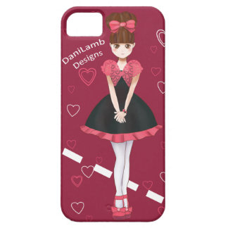 Heart Bolero Cute Anime Girl Binder iPhone SE/5/5s Case