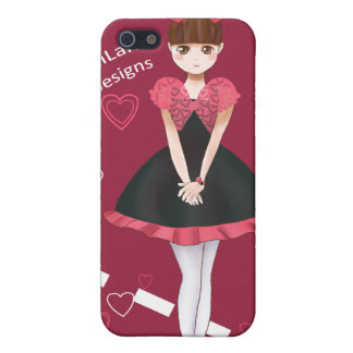 Heart Bolero Cute Anime Girl iPhone SE/5/5s Case