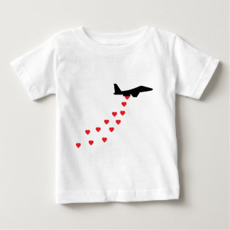 Heart bomber baby T-Shirt