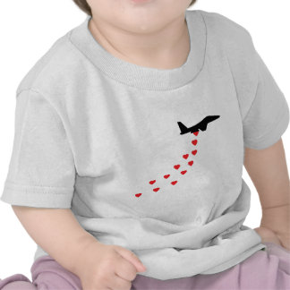 Heart bomber shirt