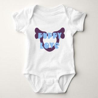 Heart Bone (Plum) Baby Bodysuit
